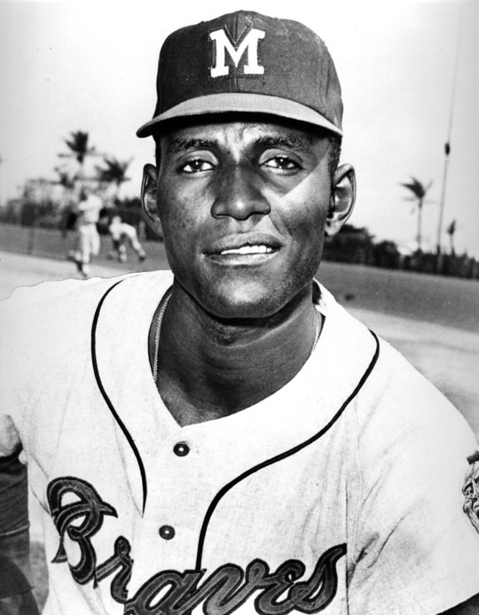 Rico Carty of the Milwaukee Braves. BL-5285.71b (National Baseball Hall of Fame Library)