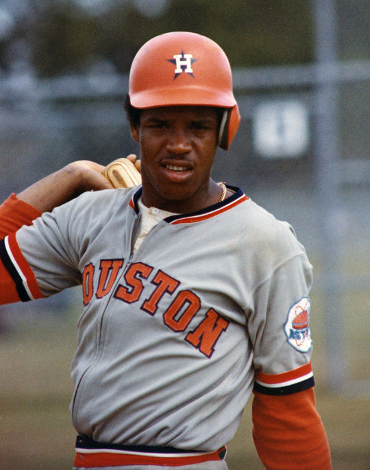 César Cedeño played for the Houston Astros from 1970-81. (National Baseball Hall of Fame and Museum)