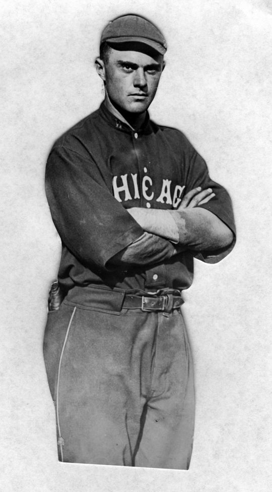 Larry Chappell, a big league outfielder for the White Sox, Indians and Boston Braves from 1913-17, was among the ballplayers who passed away from influenza in 1918. (National Baseball Hall of Fame and Museum)