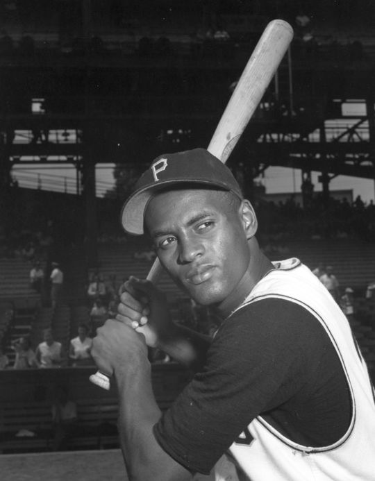 In 1972, César Cedeño's manager Harry Walker compared Cedeño to Hall of Famer Roberto Clemente (pictured above), who Walker managed in Pittsburgh from 1965 to 1967. (National Baseball Hall of Fame and Museum)