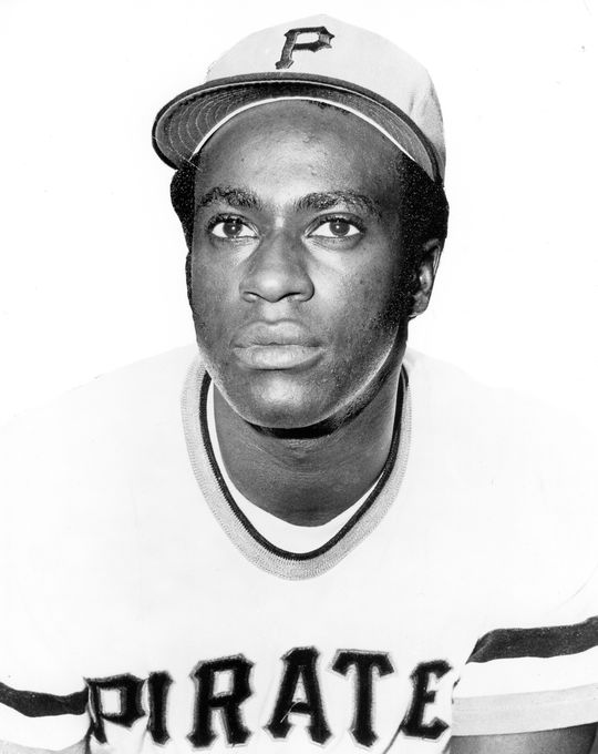Gene Clines came up through the Pittsburgh Pirates' system, and made his major league debut with them in August of 1970. (National Baseball Hall of Fame and Museum)