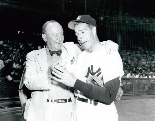 Ty Cobb expressed his opinions about modern players, including Joe DiMaggio, in a 1952 Life Magazine story. The next year, Cobb responded to an inquiry about the story in a personal letter – one that was recently donated to the Hall of Fame.  (Don Wingfield / National Baseball Hall of Fame)