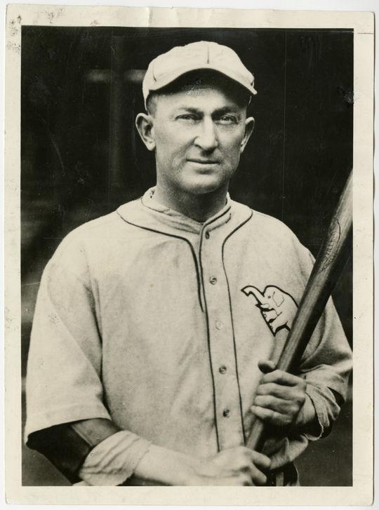 Ty Cobb of the Philadelphia Athletics. B-1173-67 (National Baseball Hall of Fame Library)