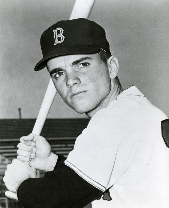 Boston Red Sox right fielder Tony Conigliaro. BL-965-71 (National Baseball Hall of Fame Library)