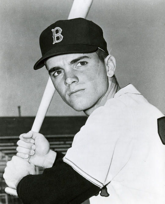 Boston Red Sox right fielder Tony Conigliaro. BL-965-71 (National Baseball Hall of Fame Library)