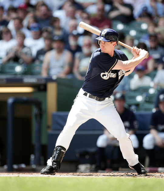 Craig Counsell played for six teams over 16 big league seasons, including the Brewers -- with whom he played 711 games, the most of any team he played with -- and the Marlins, with whom he scored the game-winning run in Game 7 of the 1997 World Series. (National Baseball Hall of Fame and Museum)