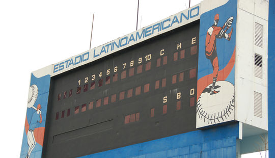 Estadio Latinamericano in Havana, Cuba, hosted a game featuring the Baltimore Orioles and the Cuban National Team on March 28, 1999. (National Baseball Hall of Fame and Museum)