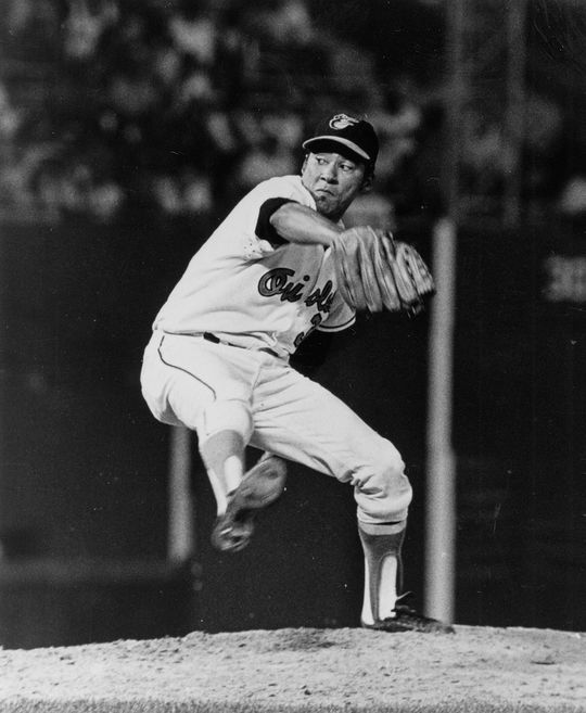 At the age of 34 in 1971, Mike Cuellar went 20-9 for the Orioles and pitched 292.1 innings. (National Baseball Hall of Fame and Museum)