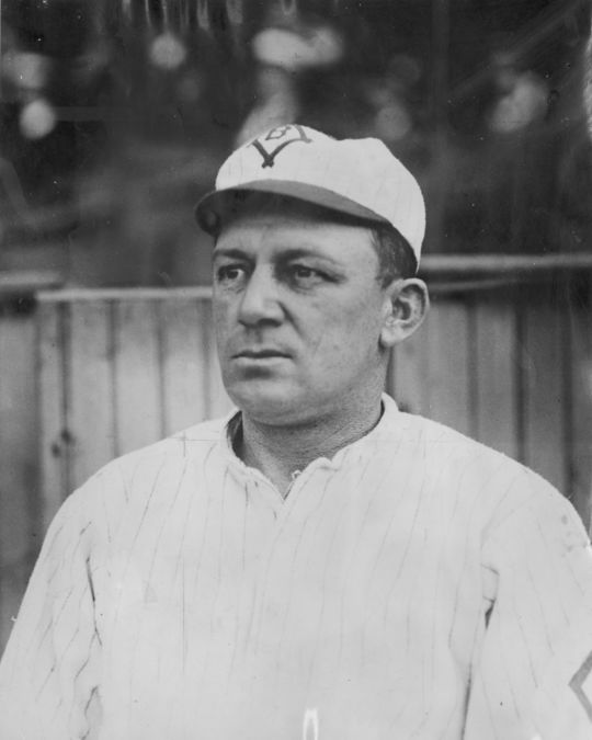 """Bill was coined """"Bad Bill"""" due to his ferocious temperament. BL-1895.68WTg (National Baseball Hall of Fame Library)"""
