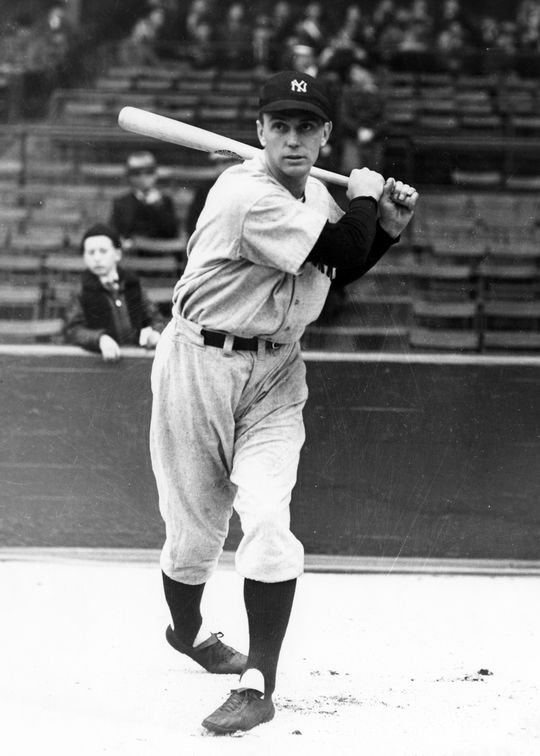 Babe Dahlgren (pictured above) replaced Lou Gehrig in the New York Yankees' lineup on May 2, 1939. Gehrig never played another big league game, but did appear in an exhibition game with the Yankees six weeks later. (National Baseball Hall of Fame and Museum)