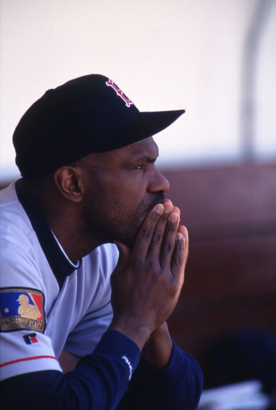 """Andre Dawson, nicknamed """"The Hawk,"""" played for the Montreal Expos, Chicago Cubs, Boston Red Sox and Florida Marlins. (Brad Mangin/National Baseball Hall of Fame and Museum)"""