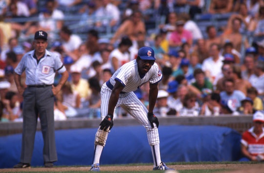 Andre Dawson belted 438 home runs and stole 314 bases over his 21-year MLB career. (Michael Ponzini/National Baseball Hall of Fame and Museum)