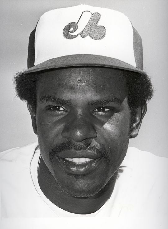 Andre Dawson won the 1977 National League Rookie of the Year Award with the Montreal Expos. (National Baseball Hall of Fame and Museum)