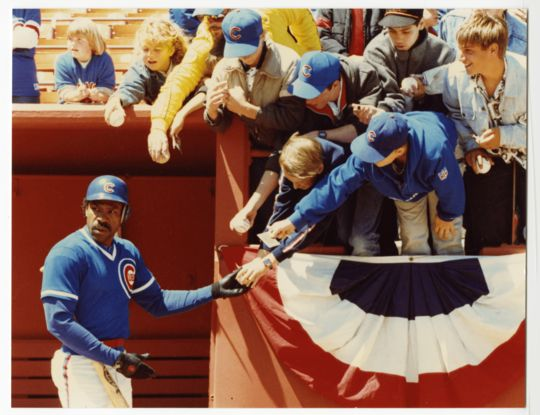 Andre Dawson was elected to the Hall of Fame in 2010. (Doug McWilliams/National Baseball Hall of Fame and Museum)