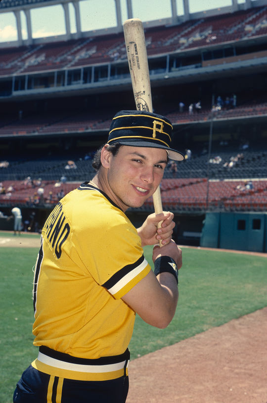There hasn't been a left-handed catcher in the major leagues since Benny Distefano, pictured above, who caught three games for the Pittsburgh Pirates in 1989. (Doug McWilliams / National Baseball Hall of Fame and Museum)