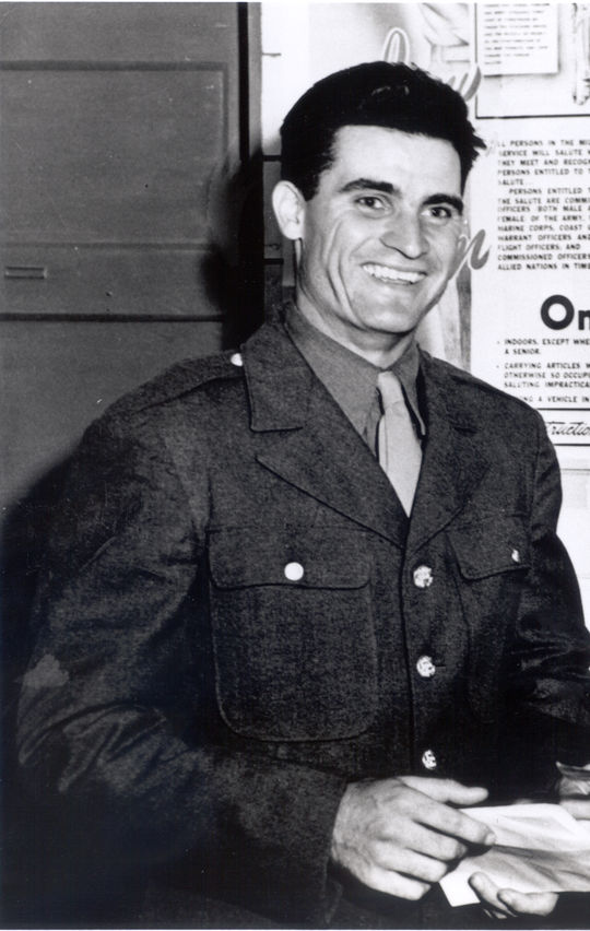 Bobby Doerr served in World War II in 1945, missing the entirety of the baseball season. (National Baseball Hall of Fame and Museum)