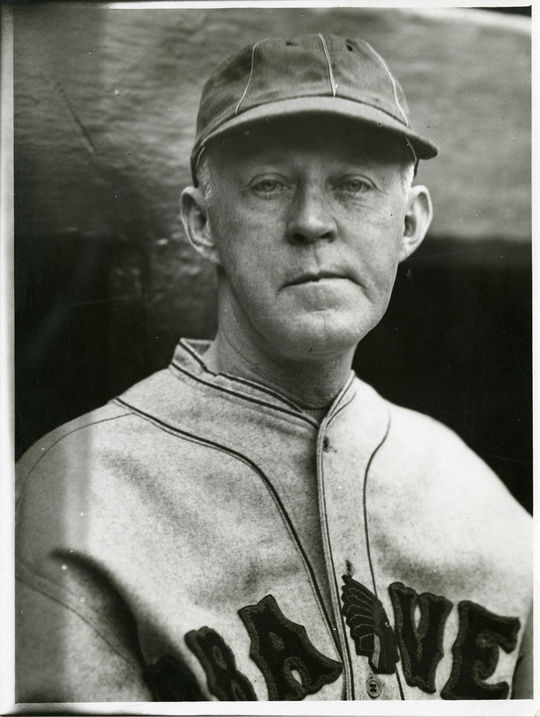 Johnny Evers, then the General Manager for the Albany Senators of the International League, was so impressed by recently released Sing Sing inmate Edwin Pitts that he offered him a contract for $200 a month. (National Baseball Hall of Fame)