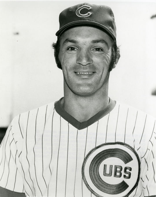 Carmen Fanzone of the Chicago Cubs. BL-5478-72 (National Baseball Hall of Fame Library)