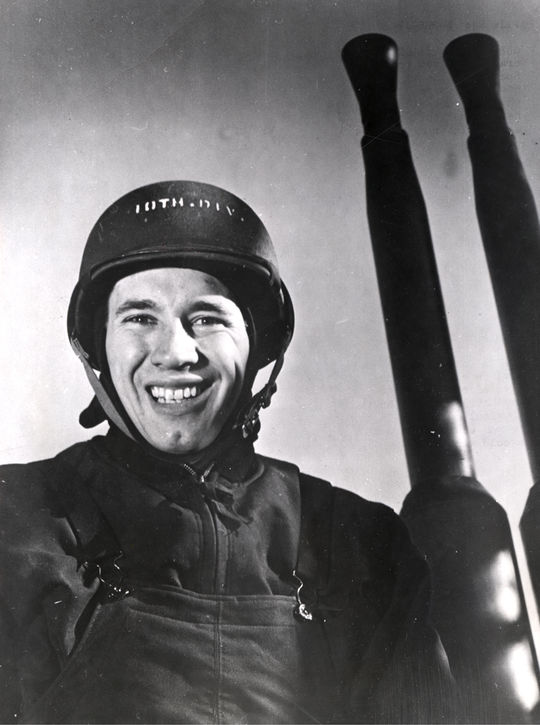 """Bob Feller was stationed aboard the <em>USS Alabama</em>, which participated in some of the Pacific's most brutal battles. <a href=""""http://collection.baseballhall.org/islandora/object/islandora%3A274370"""">PASTIME</a> (National Baseball Hall of Fame)"""