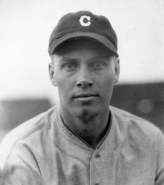 Wes Ferrell of the Cleveland Indians. BL-416.63 (National Baseball Hall of Fame Library)