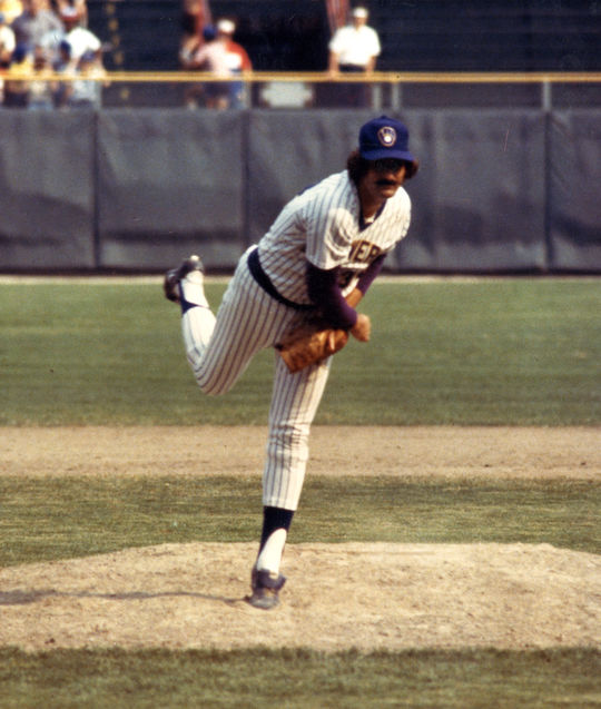 Rollie Fingers earned seven All-Star game selections and – while pitching for the Milwaukee Brewers in 1981 – he won the Cy Young Award and American League MVP Award. (National Baseball Hall of Fame and Museum)