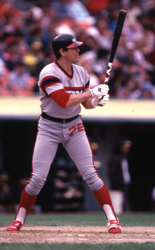 Carlton Fisk played the final 13 seasons of his big league career with the White Sox. He retired as the all-time leaders in games caught. (Lou Sauritch/National Baseball Hall of Fame and Museum)