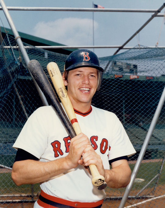 Carlton Fisk played 11 seasons with the Red Sox and 13 with the White Sox. He finished in the Top 10 of his league's MVP voting four times. (National Baseball Hall of Fame and Museum)