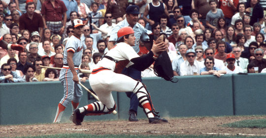 Carlton Fisk was named the American League Rookie of the Year in 1972, starting a career in which he was named to 11 All-Star Games and hit 376 home runs. (National Baseball Hall of Fame and Museum)