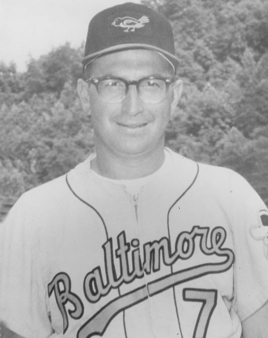 The Royals traded Moe Drabowsky to the Orioles in 1970 for infielder Bobby Floyd, pictured above. (National Baseball Hall of Fame and Museum)