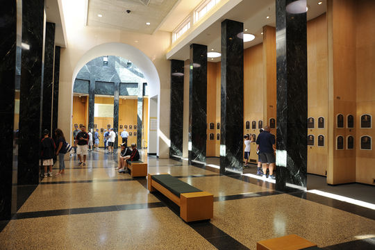 The plaques representing the members of the Class of 2018 will be immediately on display in the Plaque Gallery following the <em>Induction Ceremony</em>. They will then travel to various ballparks across the country at the beginning of August. (National Baseball Hall of Fame and Museum)