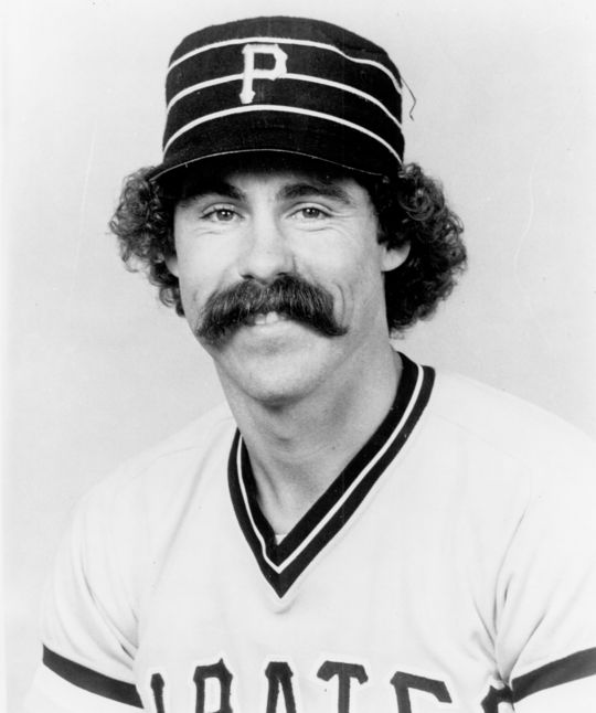Although the Pirates told Bill Robinson that he would be their starting third baseman for the 1977 season, they ended up choosing Phil Garner, pictured above, a more natural defender at the hot corner. Robinson, however, would go on to have his best year in the big leagues in 1977 as a utility player for the Pirates. (National Baseball Hall of Fame and Museum)