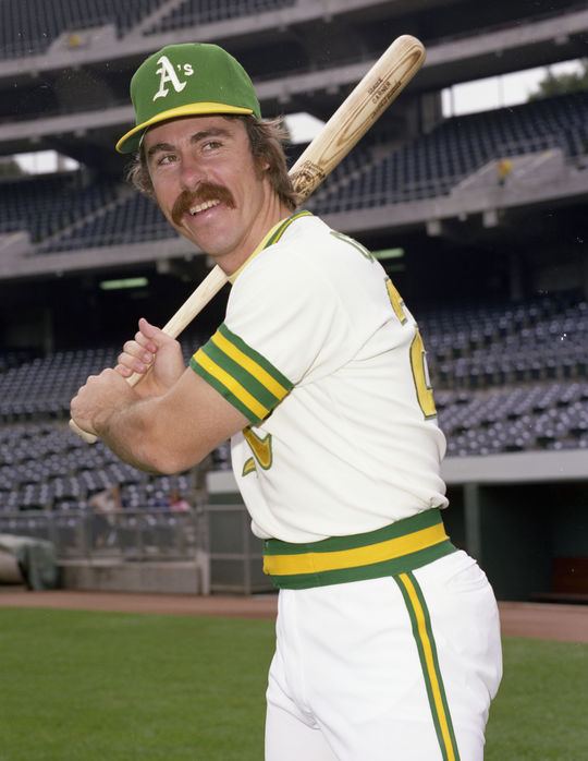 In a nine-player trade in the spring of 1977, the Athletics sent three players, including infielder Phil Garner, to the Pirates in exchange for a package of prospects that included Mitchell Page. (Doug McWilliams/National Baseball Hall of Fame and Museum)