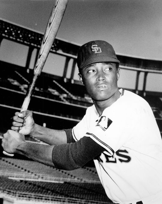 The San Diego Padres selected Cito Gaston from the Milwaukee Braves with their final pick of the 1968 expansion draft. (National Baseball Hall of Fame and Museum)