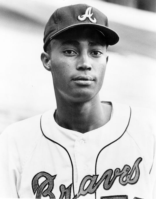 """Clarence """"Cito"""" Gaston was a highly regarded outfield prospect in the Atlanta Braves system. (National Baseball Hall of Fame and Museum)"""