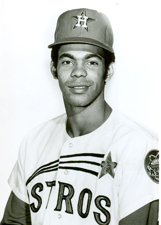 A part-time outfielder in his first three big league seasons with the Astros, César Gerónimo blossomed with the Reds following a trade that also brought Joe Morgan, Jack Billingham, Ed Armbrister and Denis Menke to Cincinnati. Gerónimo would win four Gold Glove Awards for his play in center field from 1974-77. (National Baseball Hall of Fame and Museum)