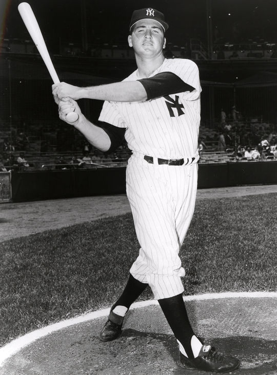 Jake Gibbs played for the New York Yankees from 1962-1971. (National Baseball Hall of Fame and Museum)