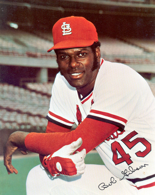 Prior to Carlton's feat on Sept. 21, 1981, Bob Gibson had held the record for the most career-strikeouts in the National League, with 3,117. (National Baseball Hall of Fame)