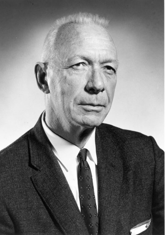 1977 J.G. Taylor Spink Award Winner Gordon Cobbledick (National Baseball Hall of Fame Library)
