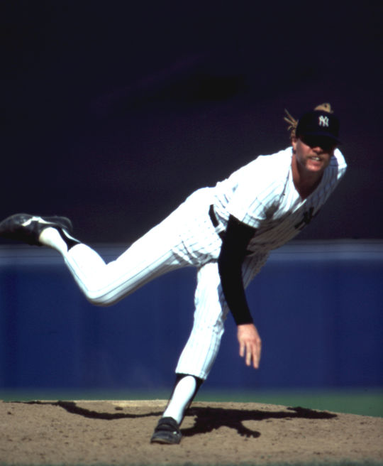 Goose Gossage, pictured above, was the Yankees closer when the team acquired Shane Rawley. (Rich Pilling/National Baseball Hall of Fame and Museum)