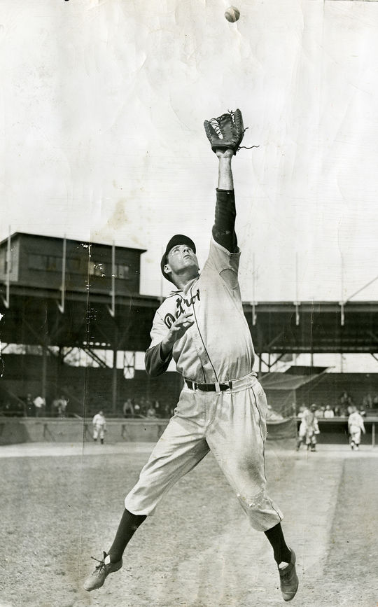 Hank Greenberg had played first base for the entirety of his career up until 1940, when the Detroit Tigers asked him to move to left field. (National Baseball Hall of Fame)