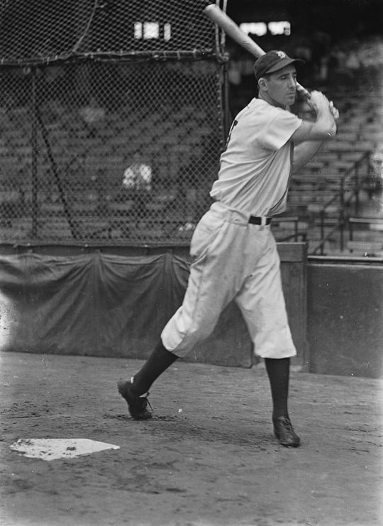 Over his 13-season big league career, including 12 with the Tigers, Hank Greenberg hit 331 home runs, leading the American League four times. (Forrest Yantis/National Baseball Hall of Fame and Museum)