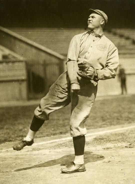 Tommy Griffith hit .280 over 13 seasons.  He was known for his fielding and for his great singing voice.  Griffith-Tommy-6006-72_Act_PD  (National Baseball Hall of Fame and Museum)
