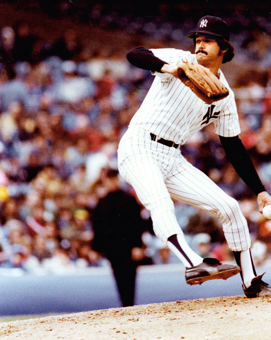 As if matching Babe Ruth's record for shutouts by an American League southpaw wasn't enough, Ron Guidry would lead his team to a second straight World Series title in 1978, just as the Bambino had done 62 years earlier. (National Baseball Hall of Fame)