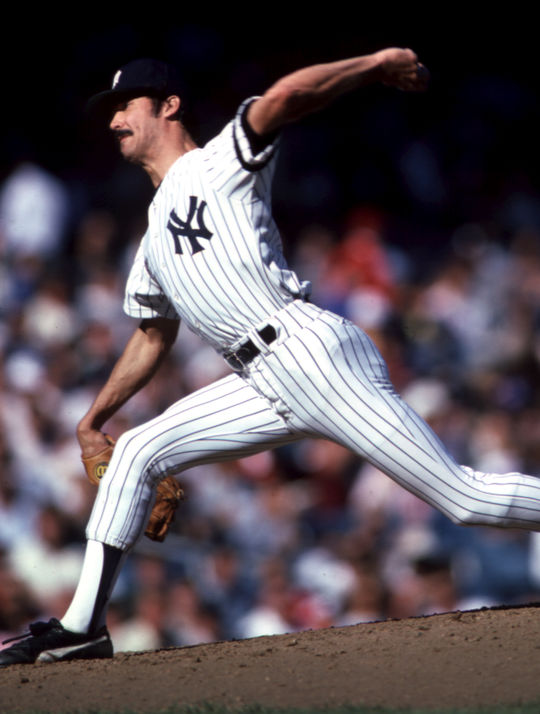 Ron Guidry posted a 25-3 record for the Yankees in 1978 and finished second to Jim Rice in the AL MVP voting. (Rich Pilling/National Baseball Hall of Fame and Museum)