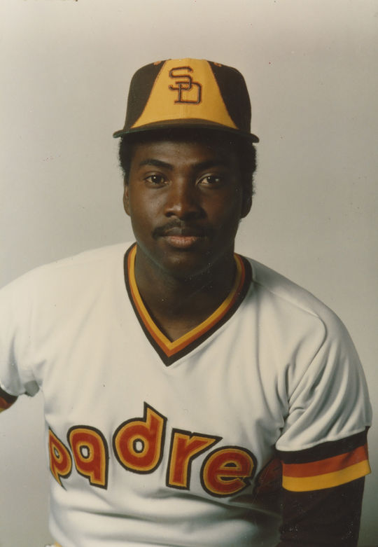 Lee Lacy finished second to Tony Gwynn, pictured above, in the 1984 National League batting title race. (National Baseball Hall of Fame and Museum)