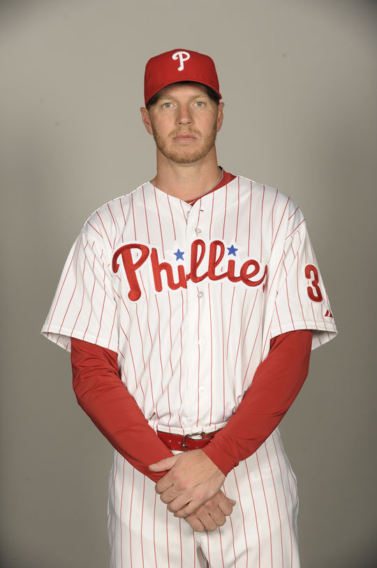 Roy Halladay joined the Philadelphia Phillies in 2010, when he helped carry them to the National League Championship Series. (National Baseball Hall of Fame and Museum)