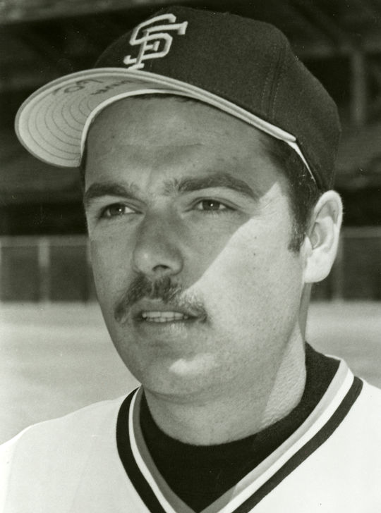 Dave Heaverlo pitched for the San Francisco Giants from 1975-77. (National Baseball Hall of Fame and Museum)