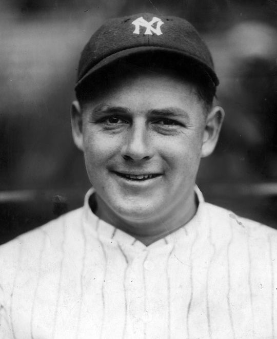 Hall of Famer Waite Hoyt was a baby-faced 21-year old when he arrived in Hot Springs in 1921, just about to begin his first season with the Yankees.  Hoyt-Waite-2036-68WT_HS_NBL  (National Baseball Hall of Fame and Museum)