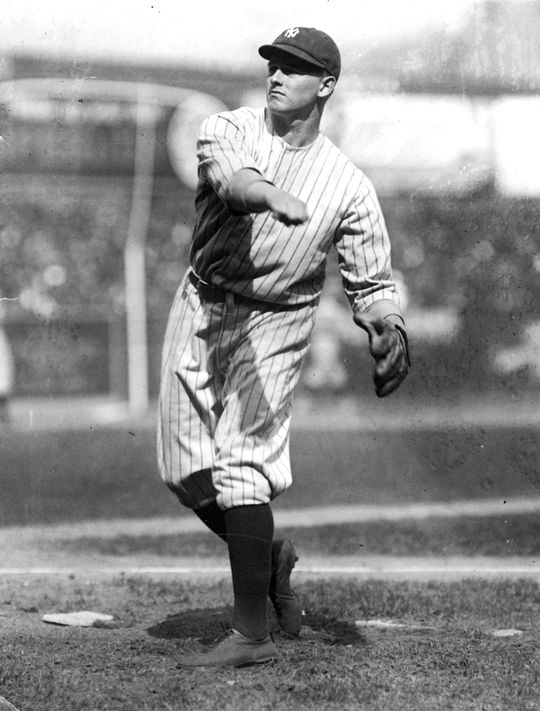 Waite Hoyt won 237 games over 21 years in his Hall of Fame career.   Hoyt-Waite-3376.00_Act  (National Baseball Hall of Fame and Museum)