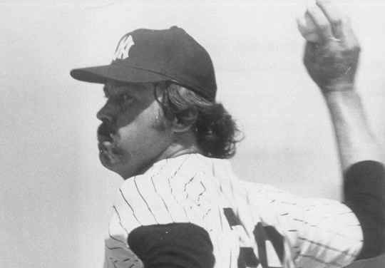 On Sept. 19, 1976, Catfish Hunter won his 200th big league game, joining Grover Cleveland Alexander, Walter Johnson and Christy Mathewson as the only pitchers to reach that milestone before their 31st birthday. (National Baseball Hall of Fame and Museum)